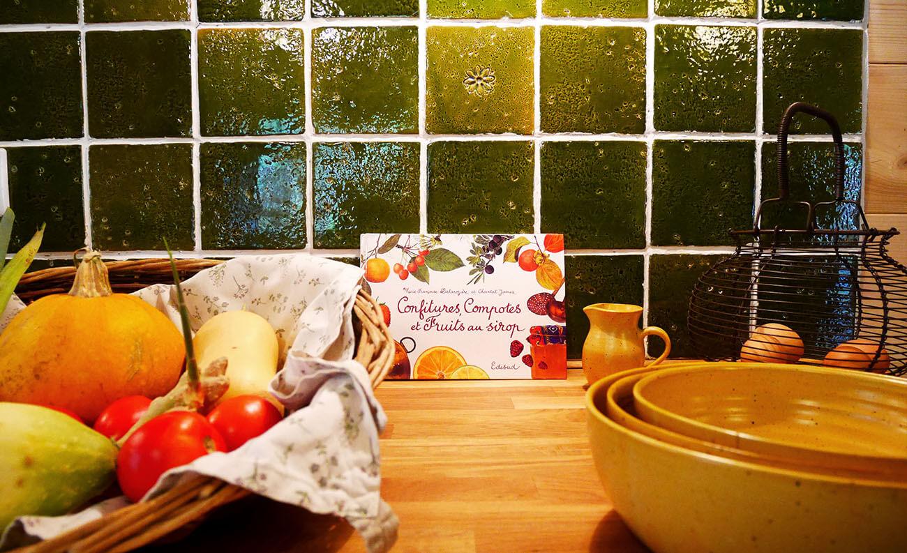 panier de légumes dans la cuisine