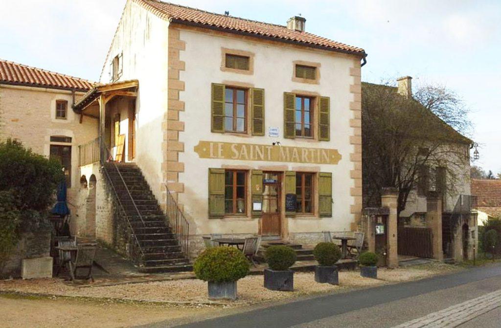 Restaurant Le Saint Martin à Chapaize
