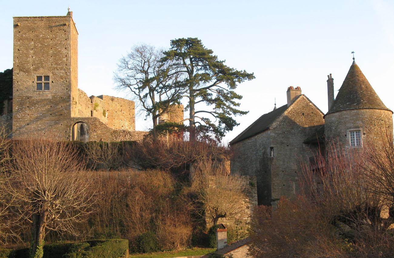 Château de Brancion en Bourgogne