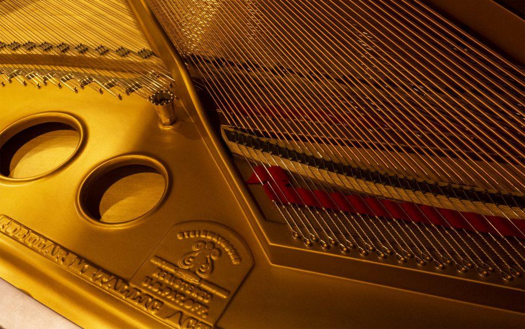interieur Piano Steinway