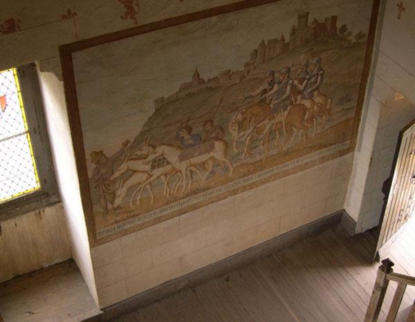 interieur Château de Brancion en Saône-et-Loire - credit photo Lisa Vitali
