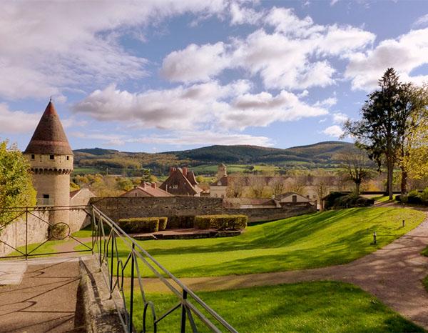 jardin abbaye de Cluny