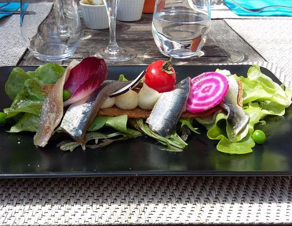 plat poisson Le Saint Martin à Chapaize